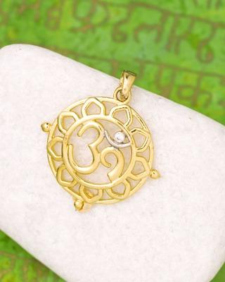 Floral OM Pendant Inspired by Spiritual Saga