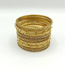 gold SILK THREAD BANGLES