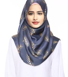 Justkartit 2 Loop Ready To Wear Chiffon Lycra Instant Hijab Stoles For Women