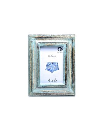 Rusty Wooden Photo Frame Handicraft for Decorations and Room Decor
