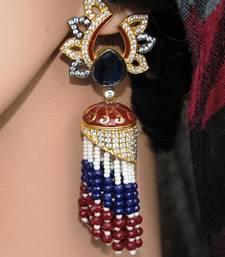 Designer Tassel Jhumka Earrings