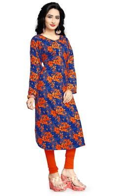 Justkartit Rayon Soft Cotton Party Wear Kurti Top For Women