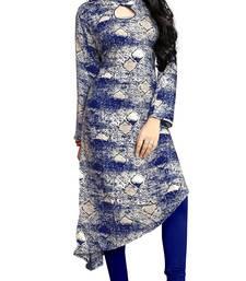 Justkartit Rayon Soft Cotton Printed Kurti For Women