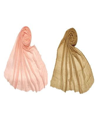Multicolor  Premium Cotton Plain Sophisticated Look Hijab