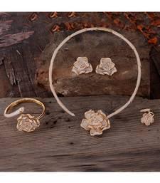 Cubic Zirconia Classy Bridal Necklace