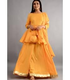 Chunri Kurta And Skirt With Dupatta