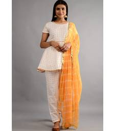 MaangTika kurta, Pant Set With Dupatta
