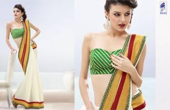 Elegant Designer Sari Kesar13