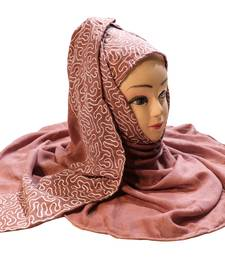 Casual Wear Rayon Soft Cotton Embroidery Hijab Scarf Dupatta For Women