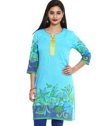 Turq Misdent Straight Long Kurta