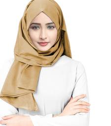 Justkartit Casual Wear Viscose Rayon Soft Cotton Plain Scarf Hijab For Women