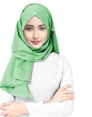 Justkartit Viscose Rayon Soft Cotton Occasion Wear Plain Scarf Hijab For Women