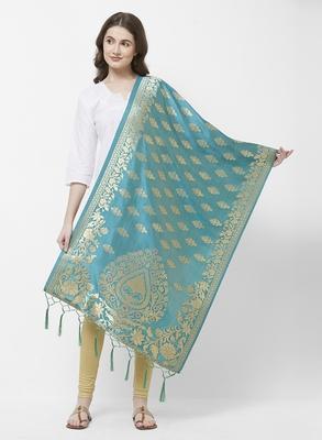 Rama Banarasi Silk Dupatta for woman