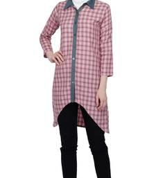 Asymmetric Shirt Dress By Ruqsar
