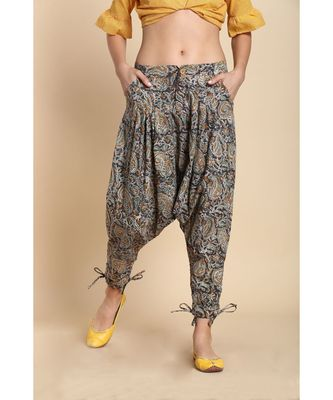 multicolor printed cotton jodhapuri bottoms