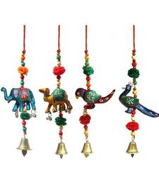 Door Hanging set of 4 pc Elephant , Camel , Parrot and Peacock
