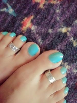 German Silver Toe Ring