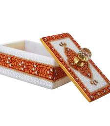 HANDICRAFTS PARADISE MARBLE KUPI WORK BOX
