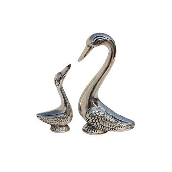 Swan set small in Metal