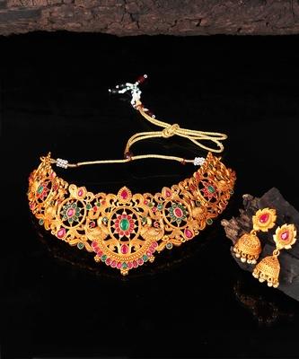 Temple Choker Necklace Sets