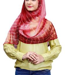 Justkartit Soft Net Lycra Ready To Wear Hijab Scarf For Women (To Be Worn On Hijab Cap)