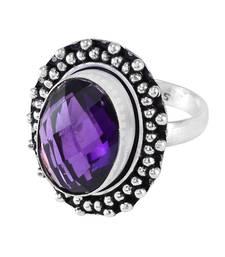 Purple Amethyst   Rings