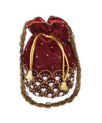 Women's Handcrafted Bridal Potli Bag