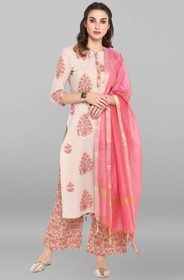 Multicolor printed cotton ethnic-kurtis