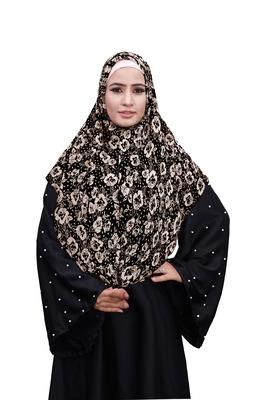Justkartit Casual Wear Chiffon Square Scarf Hijab Dupatta For Women