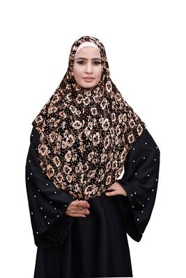 Justkartit Daily Wear Soft Chiffon Printed Square Scarf Hijab Dupatta For Women