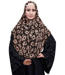 Justkartit Daily Wear Soft Chiffon Printed Square Scarf Hijab Dupatta For Women