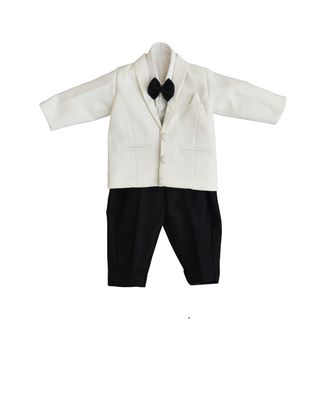 White Coat wih Black Pant