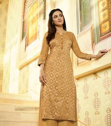 Mustrad Embellished Printed Party wear kurti