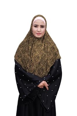 Justkartit Casual Wear Women Printed Chiffon Square Scarf Hijab