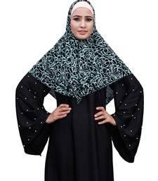 Justkartit Pista Color Daily Wear Women Chiffon Square Scarf Hijab
