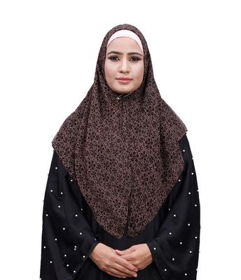 Justkartit Soft Chiffon Printed Square Scarf Hijab Dupatta For Women