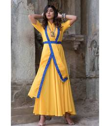 PREDRAPED COLLAR DRESS