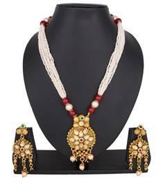 Copper diamond necklaces