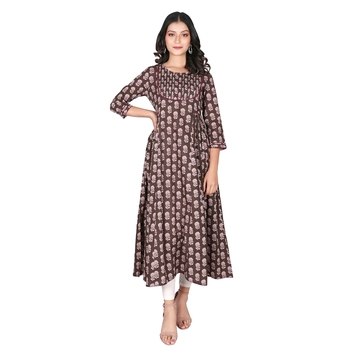 Women's Kashish Cotton Flared Kurti