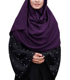 Justkartit Daily Wear Linen Cotton Scarf Hijab For Women