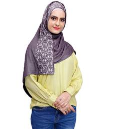 Justkartit Embroidery Soft Cotton Scarf Hijab For Women