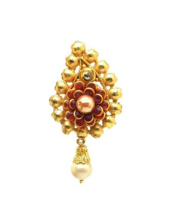 Gold Plated Brooch For Men