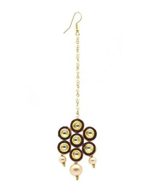 Gold Plated Maang Tikka For Women And Girls