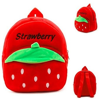 Lychee bags Kid's Velvet School Nursery Picnic Carry Travelling Bag