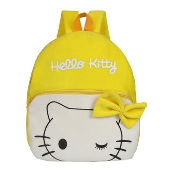 Lychee bags Kid's Velvet School Nursery Picnic Carry Travelling Bag