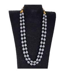 Grey Baroque Pearl Royal Look Beautiful Necklace