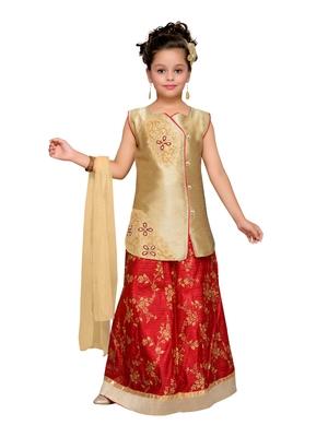 Yellow Silk Blend Lehnga Choli
