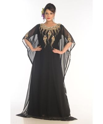 Beautiful Moroccan Islamic Wedding Gown Party Wear Gown For Women