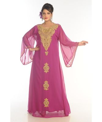 New Moroccan Arabic Islamic Party Wear Party Dress For Women