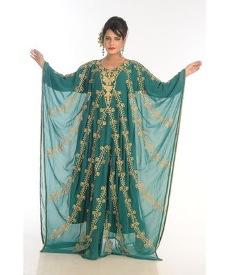 Dubai Morocan Arabic Islamic Kaftan Dress